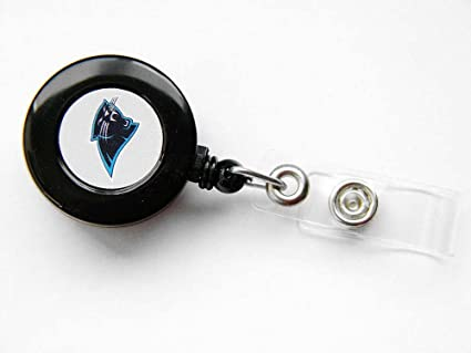 Amazon.com: Carolina Panthers retráctil Badge Reel ID Ticket ...