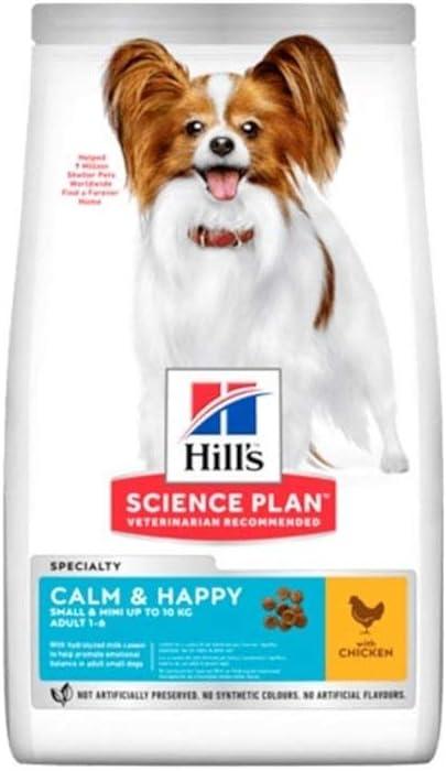 Hills Scie Hsp Canine Adult Calm Happy Raza Small Mini Pollo 1,5Kg 1500 g