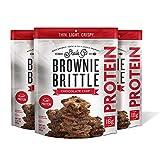 Brownie Brittle Protein Chocolate Chip 3.25oz, 3 Pack
