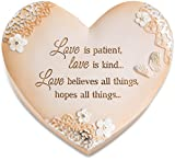 Pavilion Gift Company 19114 Light Your Way Everyday Love is Patient Keepsake Decorative Box, 4''