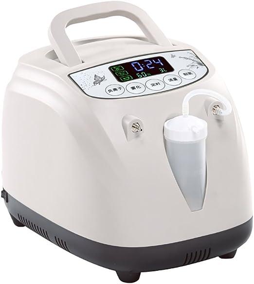 Chun Li Concentrador de oxígeno: concentrador de oxígeno portátil ...