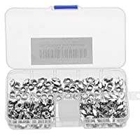 Terrans 150Pcs 2020 Series M3 M4 M5 European Aluminum Extrusions Slim T-Nut Hammer Head Fastener Nut Assortment Kit from Terrans