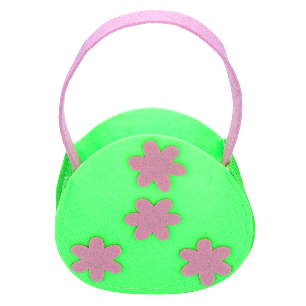 Easter Small Flower Gift Candy Bag Creative Present Home Accessory