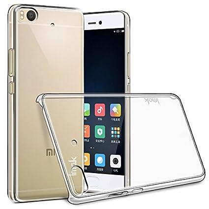 Imak Funda Xiaomi Mi5S Mi 5S, Transparente Clear Plastic Hard Cover Case Carcasa de Piel para Xiaomi Mi 5S, Durable Nano Coating Processed, Ultra ...