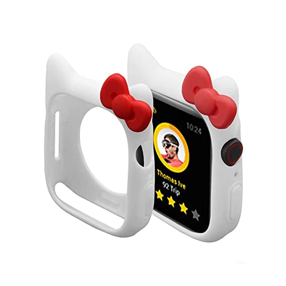 e00cea0d4 Cute Silicone Case for iWatch, Shock-Proof and Shatter-Resistant Protective  Protective Case