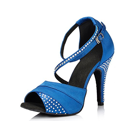 Miyoopark - salón mujer Blue-10cm heel