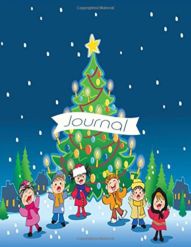 Journal: Christmas Ruled Notebook Keepsake Holiday Memory Book To Write Or Draw In With Xmas Quotes (Holiday Season Gifts) (Card For Christmas Designs Kids)