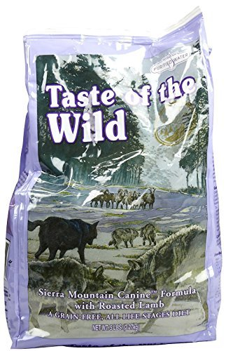 Taste of the Wild Dry Dog Food, Sierra Mountain with Lamb, 5 Pound Bag by Taste of the Wild