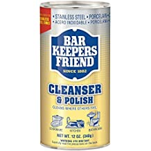 Bar Keepers Friend All-Purpose Cleaner & Polish 12 oz (Pack of 2)