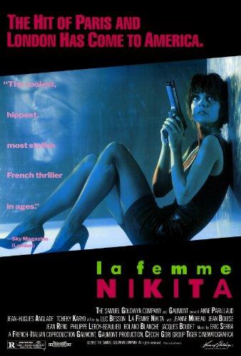 (27x40) La Femme Nikita Movie (Anne Parillaud with Gun) Poster Print