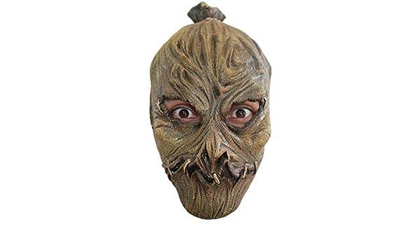 Máscara de espantapájaros de Horror de Halloween de los niños: Amazon.es: Juguetes y juegos