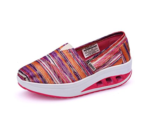 Spring Ladies Thick Casual Summer Pink Bottom Sports Breathable Dream Slippers Shoes Student and Shoes Canvas Shoes nqPRwIzw0U