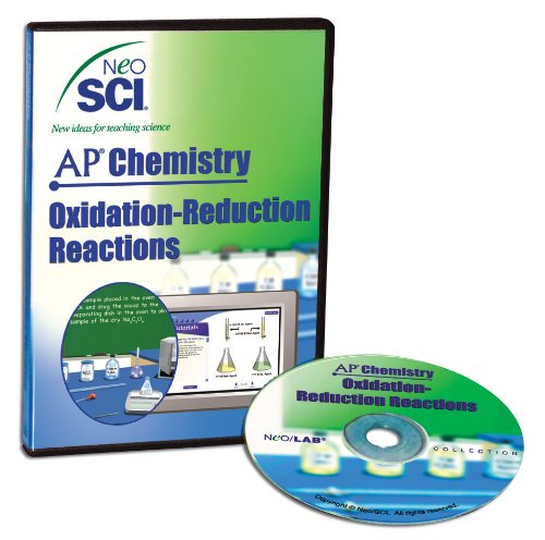 Neo/SCI Oxidation-Reduction Reactions Neo/LAB AP Chemistry Software, Network License (Reactions Lab)
