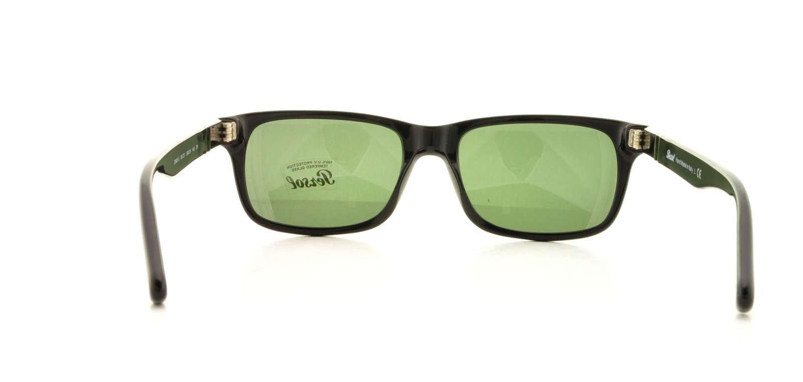 Persol Sunglasses Men Black Rectangular 100% UV Protection PO3048S 95/31 by Persol