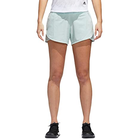 adidas Women s Sport ID Summer Shorts Ash Green X-Small 4 55f0686e5163c