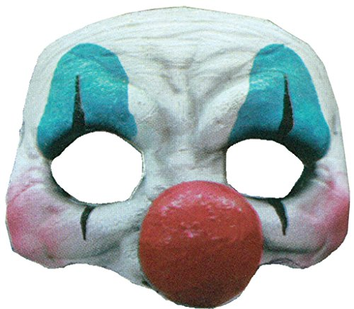 Generic Mahal604 – happy Clown Large Nose Latex Half Mask Adult – one -