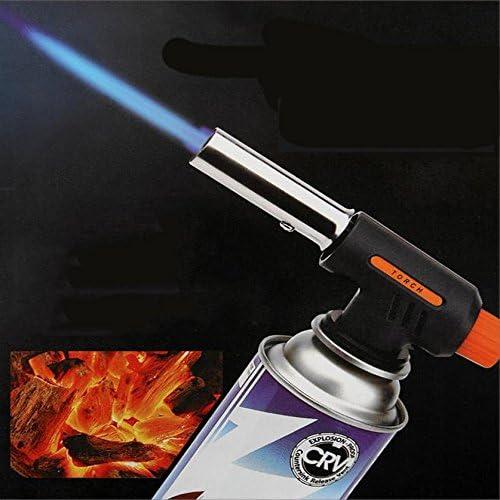 Blow Torch Butane Gas Flamethrower Burner Welding Auto L Ignition BBQ Z3O8