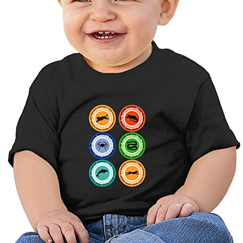 KIDDOS Infants &Toddlers Baby's Wild Kratts T Shirt 6 M Black
