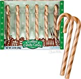 MEAT MANIAC ULTIMATE Novelty Candy Canes Sampler Gift Pack with Sticker- Bacon Candy Canes, Coffee Candy Canes, Gravy Candy Canes & Wasabi Candy Canes