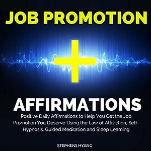 Job Promotion Affirmations Audiobook