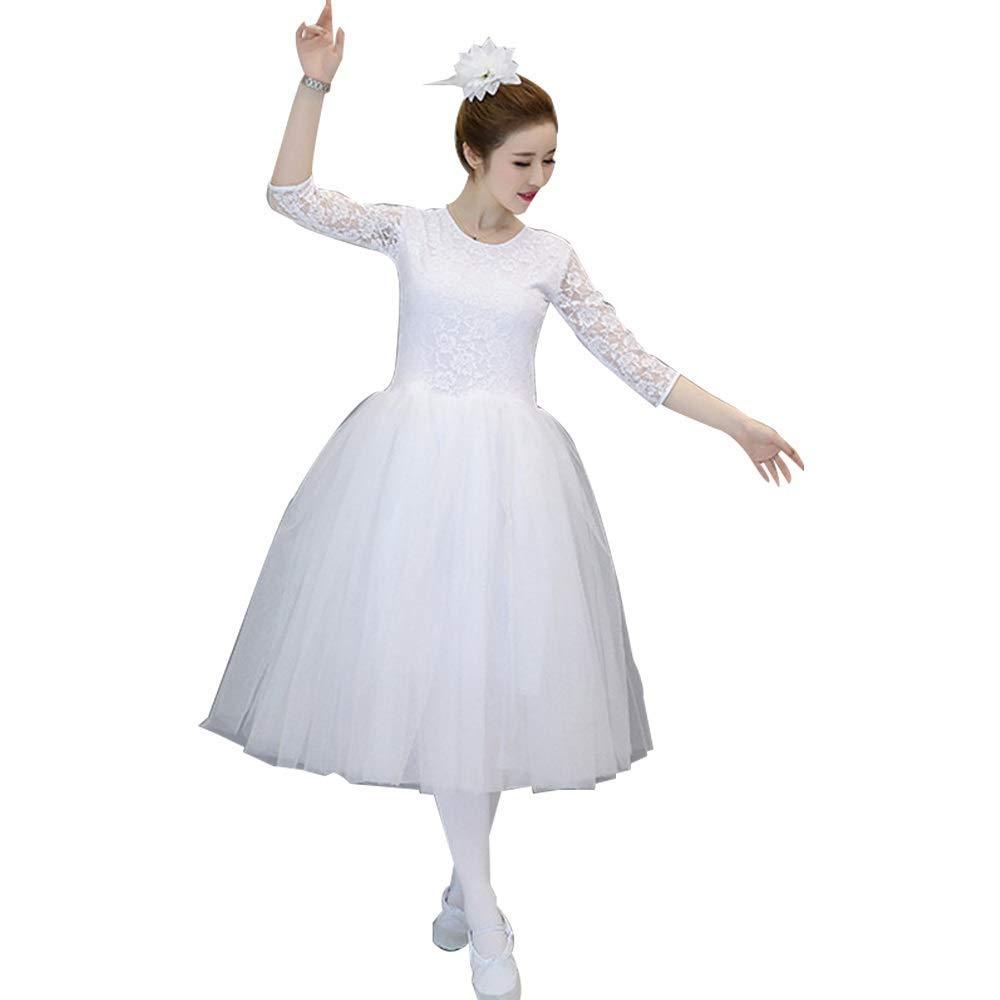 WCZZ Ballet para adultos de la falda del traje de la ropa de ...