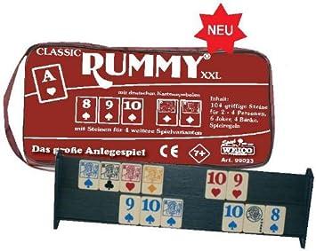 Weico - Rummy Classic XXL en el Bolsillo con Cremallera: Amazon.es ...