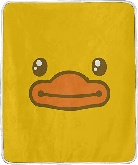 Cute Ducky Throw Quilt\\Blanket