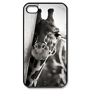 Hard Shell Case Of Giraffe Customized Bumper Plastic case For Iphone 4/4s