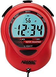 MARATHON ST083013 Adanac Digital Glow Stopwatch Timer - Battery Included …