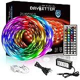 DAYBETTER Led Strip Lights 32.8ft 5050 RGB LEDs