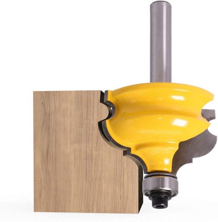 Yintiod Fraise /à moulure darchitecturale 1//2 8 mm