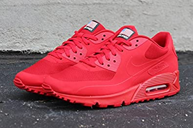 0028b87dc91 Image Unavailable. Image not available for. Colour  NIKE AIR MAX 90  INDEPENDANCE DAY RED HYPERFUSE ...