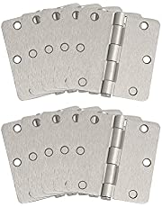 "Design House 181362 10-Pack Door Hinge Bearing 3.5"", Satin Nickel"
