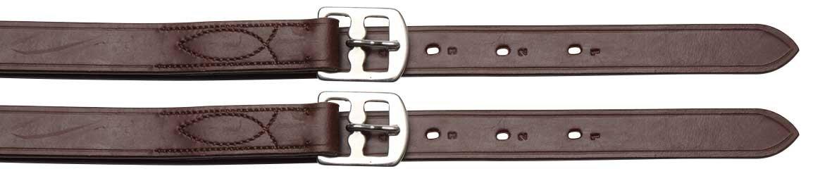 Oregon Plain Stirrup Leathers, Leathers, Leathers, nero 33611c