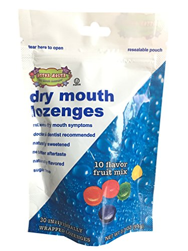 Cotton Mouth Dry Mouth Lozenges Fruit Mix Bag