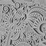 Cool Tools - Flexible Texture Tile - Flower Doodle