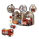 Fireman Sam Deluxe Fire Station & Fire Engine Jupiter Playset With Figures