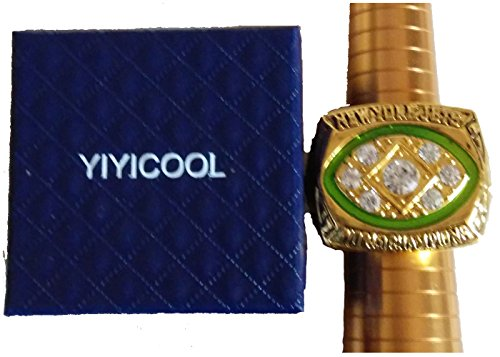 for YIYICOOL fans' collection 1968 New York Lightning team championship rings size 11 by YIYICOOL (Image #3)
