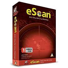 eScan Anti Virus for Linux Desktop 1 User 2 Years