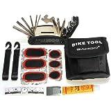 Fahrrad Fahrradwerkzeug Reifen Flickzeug Flickset Reparaturset Flicken + Tasche