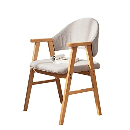 Amazon.com: Sillas de salón de patio asiento de madera ...