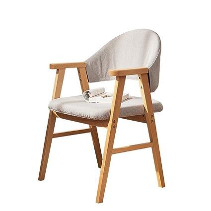 Amazon.com: Sillas de salón de patio asiento de madera ...