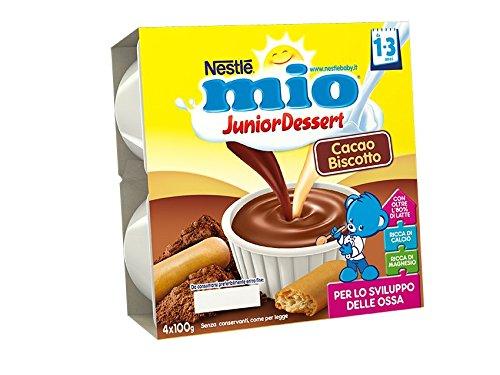 19 opinioni per Mio Merenda al Latte Cacao e Biscotto, per Bambini da 1 a 3 Anni- Pacco da 4 x