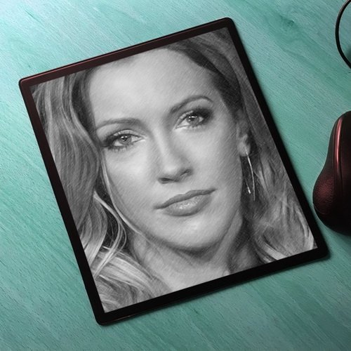 Seasons Katie Cassidy - Original Art Mouse Mat #js002