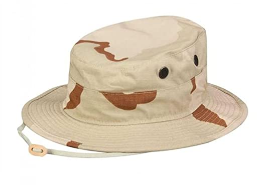 Amazon.com  Desert Boonie Hat - 3 Color - DCU  Military Apparel ... e7bae635c95