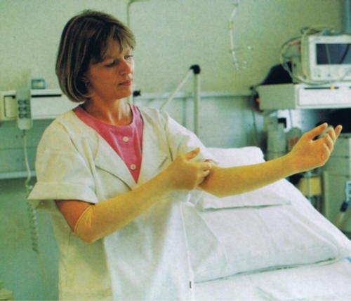 Gynäkologische Handschuhe - Untersuchungshandschuhe Größe L