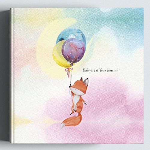 Girl Memory Album - Baby First Year Journal: Modern Memory Keepsake Book & Photo Album for New Parents. Track Baby's Milestones - Girl, Boy, Neutral Gender. Newborn Shower Gift Ideas 2018.