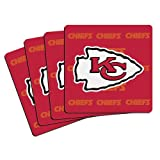 NFL Kansas City Chiefs Neoprene Coaster, 4-Pack