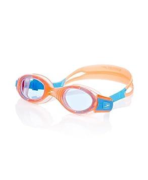 Speedo - Futura Biofuse - Lunette de natation - Mixte Enfant - Orange (Bleu) 15c1608c48e7