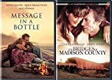 Tender Love Stories Collection - The Bridges of Madison County & Message in a Bottle 2-DVD Bundle